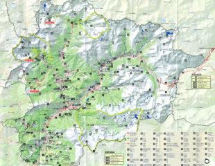 карта андорры с достопримечательностями