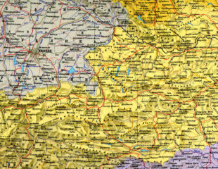 карта австрии на русском