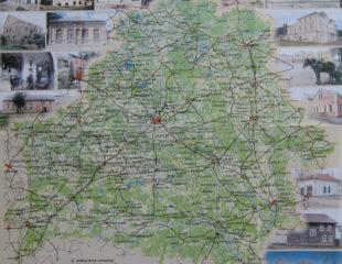 карта достопримечательностей беларуси
