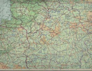 карта беларуси физическая