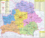 карта городов беларуси
