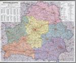 карта беларуси подробная