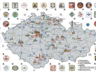 карта пива в чехии