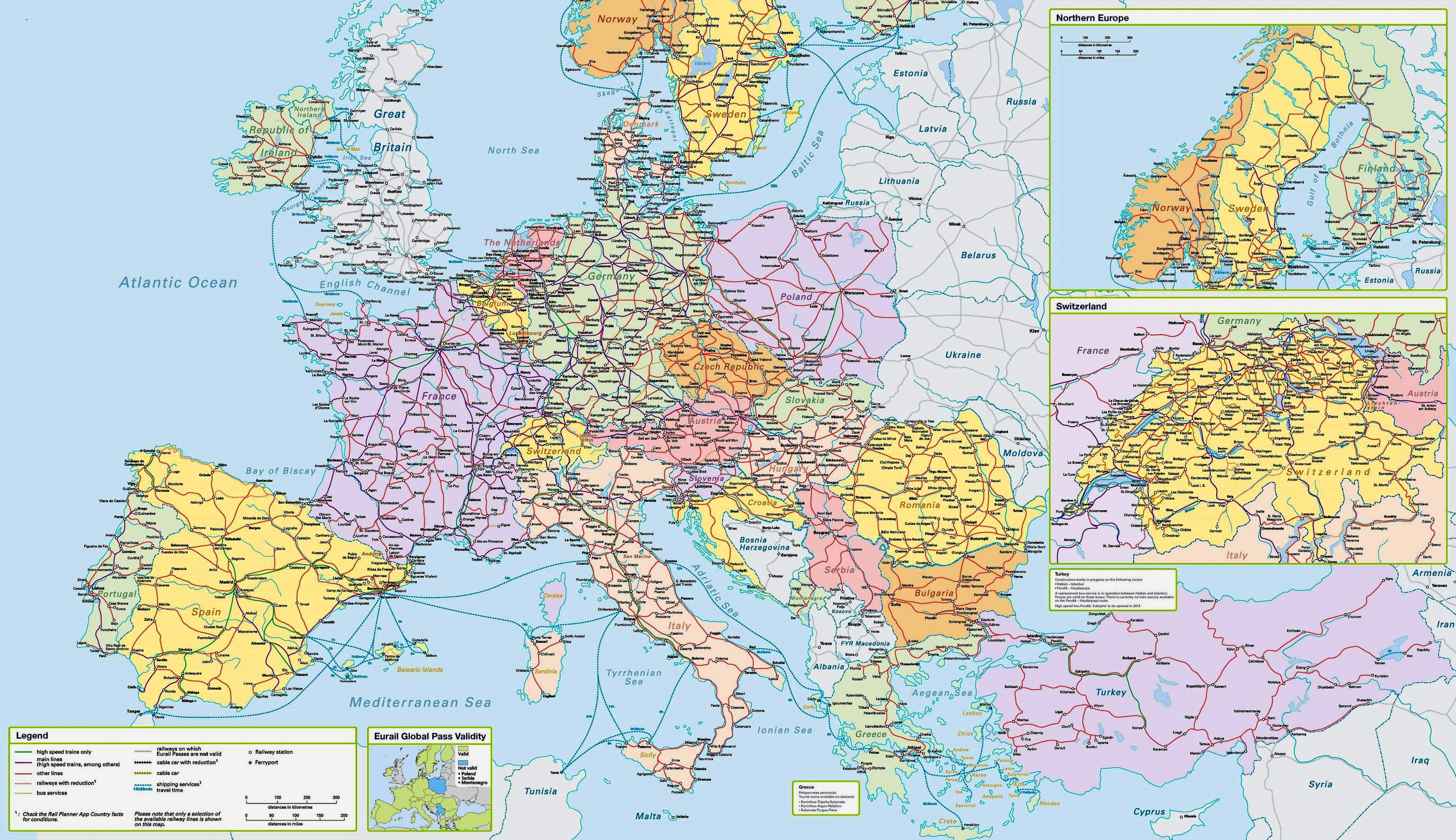 скачать карту европы бесплатно для навител