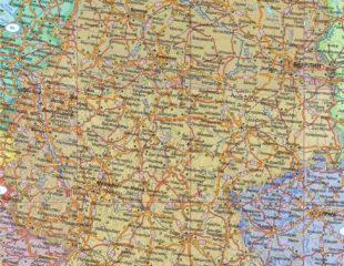 карта германии на русском