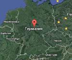 спутниковая карта германии