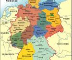 карта германии с землями