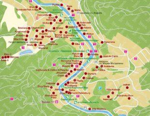 карта карловых вар на русском