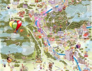 карта карловых вар туристическая