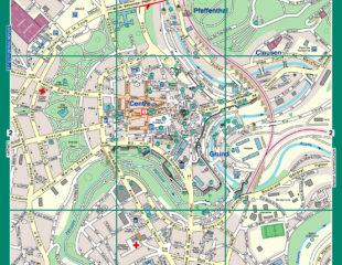 туристическая карта люксембурга