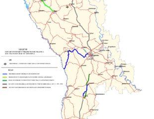 карта дорог молдовы