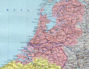 карта нидерландов на русском