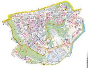 карта улиц оломоуца