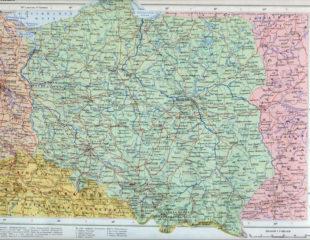карта польши на русском