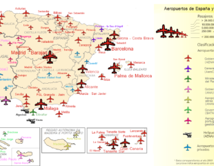 карта аэропортов португалии
