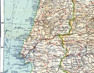 карта португалии подробная