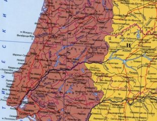 карта португалии на русском