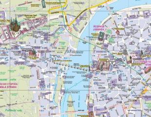 карта праги на русском