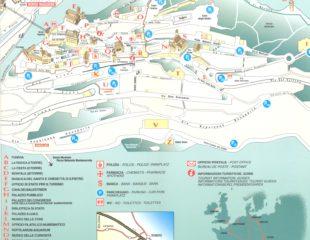 карта сан-марино с достопримечательностями