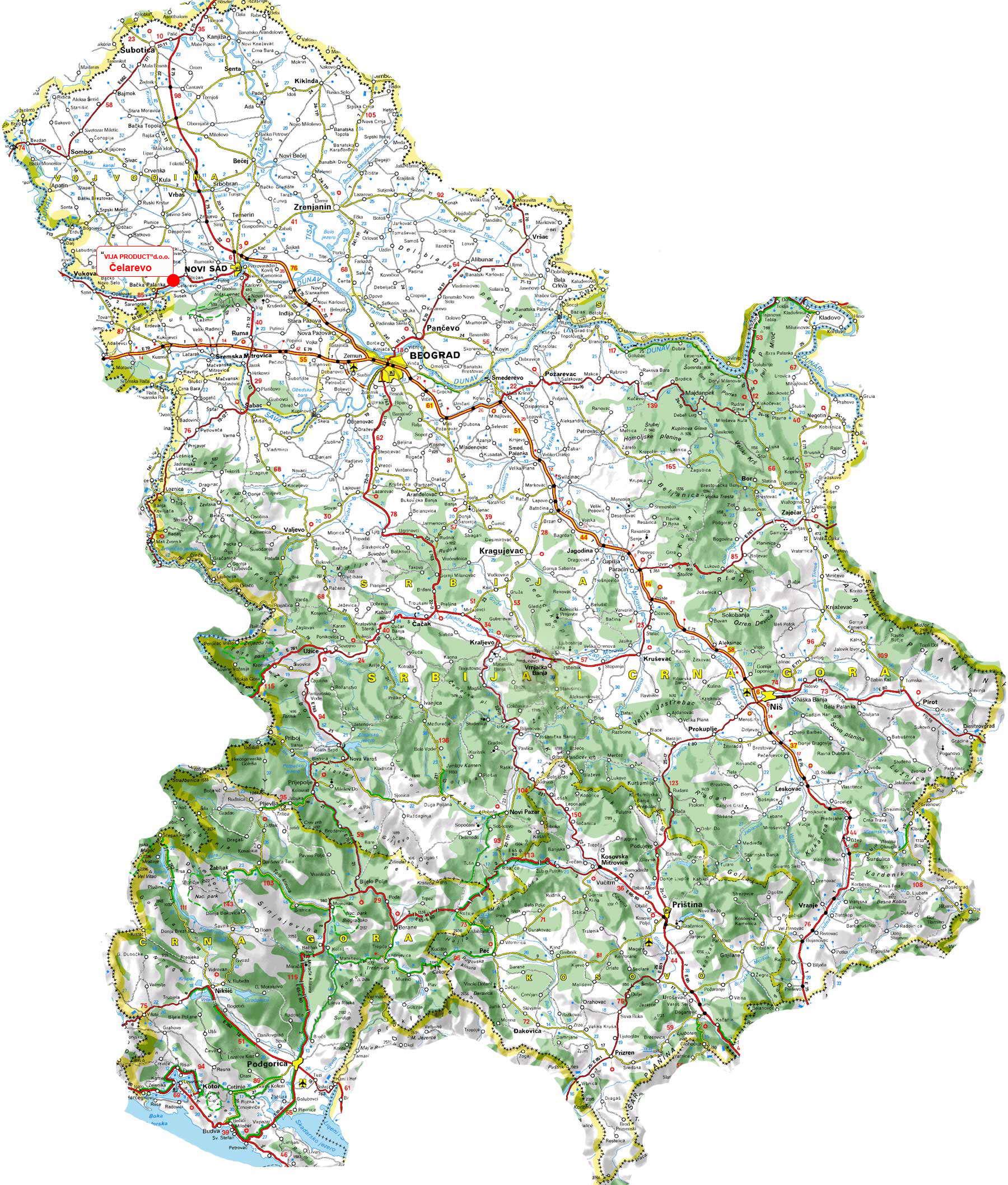 Auto Karta Vojvodine Download Superjoden