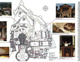 карта ватикана подробная
