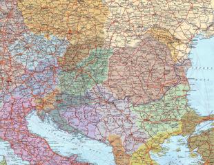 карта восточной европы на русском