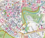 карта города оломоуц